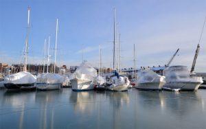зимний яхтинг