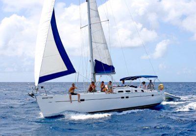 Парусная океанская яхта beneteau oceanis