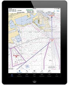 навигационное приложение iSailGPS