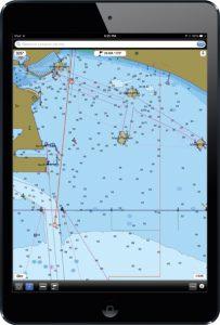 навигационное приложение Navimatics Charts & Tides Free