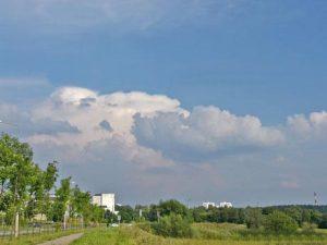 Кучевые мощные облака