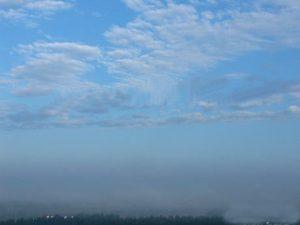Перисто-кучевые кучевообразные облака