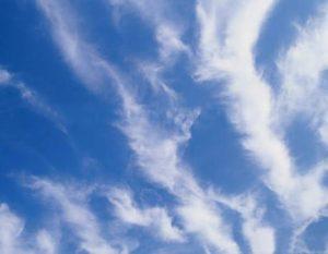 Перисто-кучевые волнистые облака