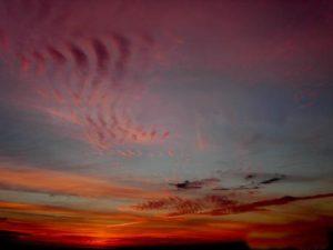 Перисто-слоистые волокнистые облака