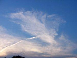 Перистые плотные облака