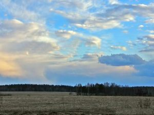 Слоисто-кучевые дневные облака
