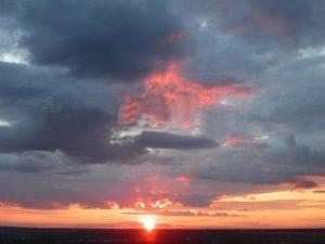 Слоисто-кучевые просвечивающие облака