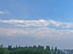 Слоисто- кучевые растекающиеся облака