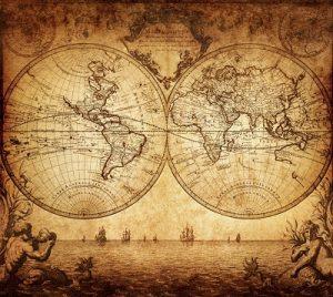 навигация в яхтинге, морские карты