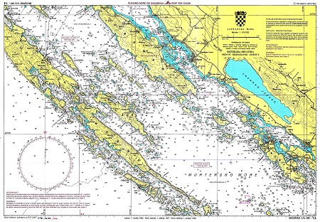 морская навигационная карта