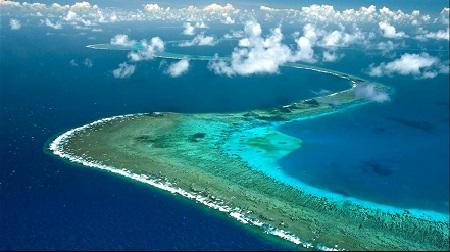 ходить под парусом на большом барьерном рифе