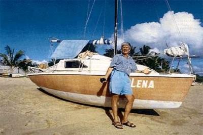 яхта Lena с Евгением Гвоздевым