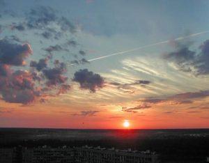 Перистые волокнистые облака