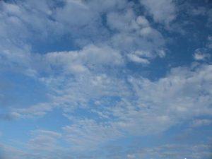 Высоко-кучевые просвечивающие облака