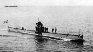 подводная лодка с дизельным судовым двигателем