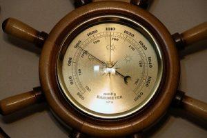атмосферное давление в яхтинге