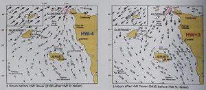 карта приливов